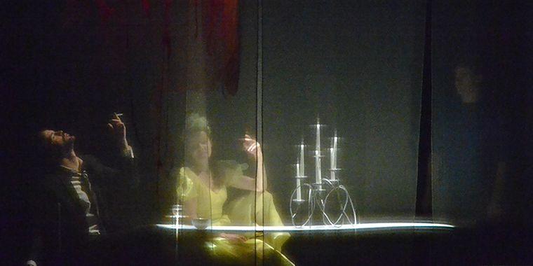 La ménagerie de Verre mis en scène par Daniel Jeanneteau